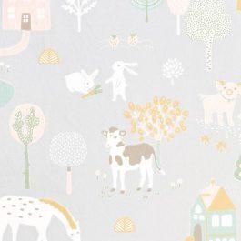 Обои Majvillan Коллекция Wish upon your dreams дизайн My Farm арт. 127-01