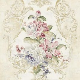 Обои KT-Exclusive Коллекция Hudson Park II дизайн Framed Bouquet арт. HK90201