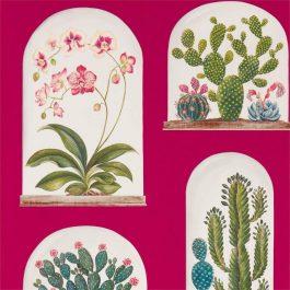 Обои Sanderson Коллекция The Glasshouse дизайн Terrariums арт. 216657