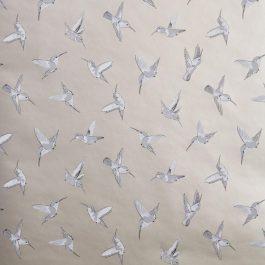 Обои Clarke&Clarke Коллекция Oasis дизайн Hummingbird арт. W0109/02