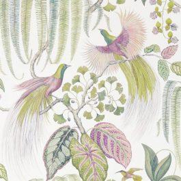 Обои Sanderson Коллекция The Glasshouse дизайн Bird of Paradise арт. 216654
