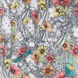 Обои Matthew Williamson Коллекция Deya дизайн Cactus Garden арт. W7268-03