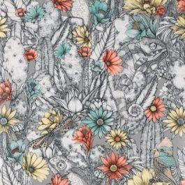 Обои Matthew Williamson Коллекция Deya дизайн Cactus Garden арт. W7268-02