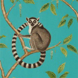 Обои Sanderson Коллекция The Glasshouse дизайн Ringtailed Lemur арт. 216663