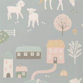 Обои Majvillan Коллекция Wish upon your dreams дизайн My Farm арт. 127-02