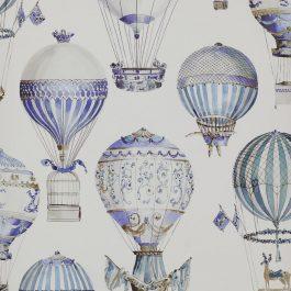 Обои Manuel Canovas Коллекция Papiers Peints Vol 5 & 6 дизайн L'Envol арт. 03079/01