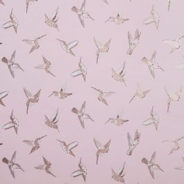 Обои Clarke&Clarke Коллекция Oasis дизайн Hummingbird арт. W0109/01